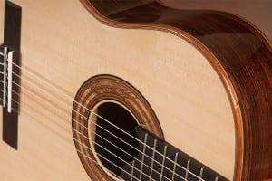 indian rosewood classical guitar