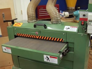 Woodworking Equipment for Guitar Building - A Drum Sander