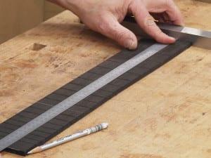 Guitar Wood - slotted classical guitar fingerboard
