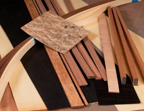 Classical Guitar Wood Details Kit