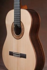 J.S. Bogdanovich Indian rosewood classical guitar - spruce top