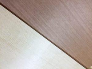 spruce and cedar soundboards