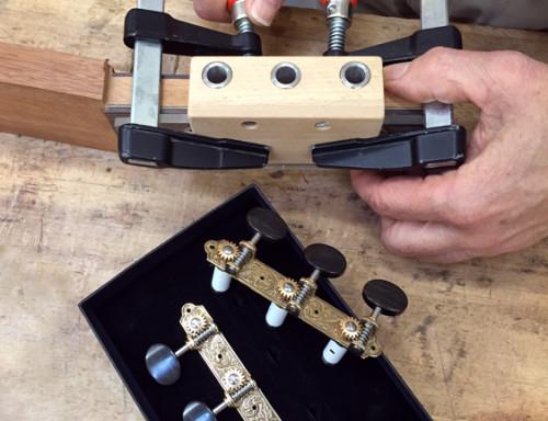 Guitar Tuning Machine Drilling Jig