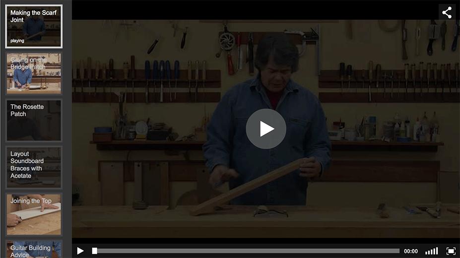 Guitar Making Technique Videos
