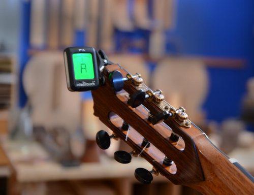 Guitar Tuner on Bogdanovich Guitar
