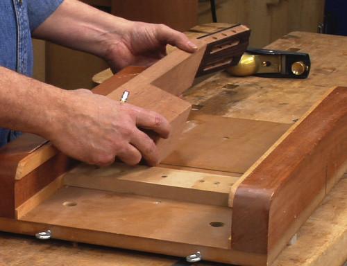 Classical Guitar Heel Cutting Jig